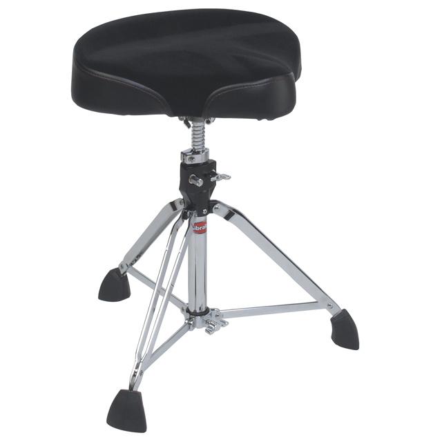 Moto-Style Contoured Drum Throne