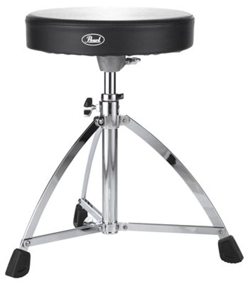 Single-Braced Round Drum Throne