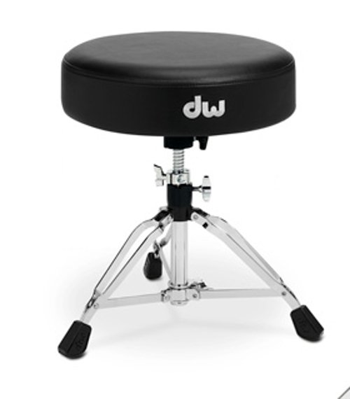 Low-Profile Round Top Drum Throne
