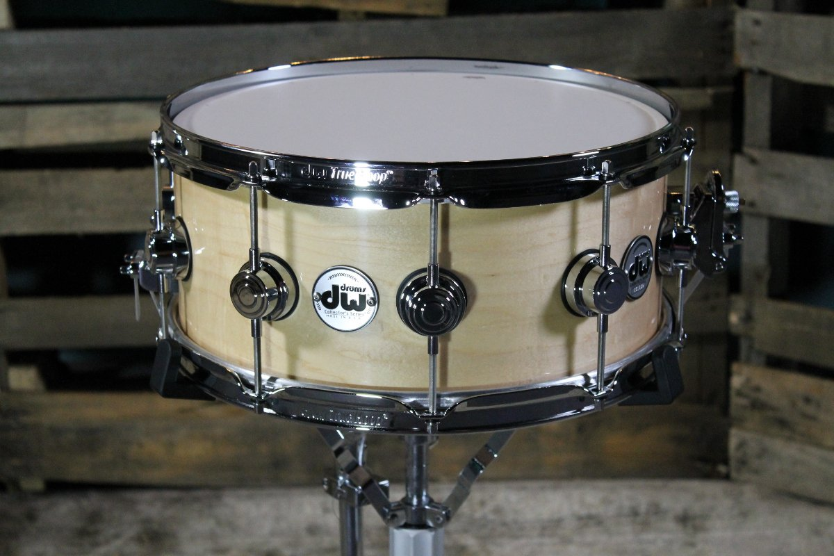 "6""x14"" Collectors Series Snare Drum Natural Satin"
