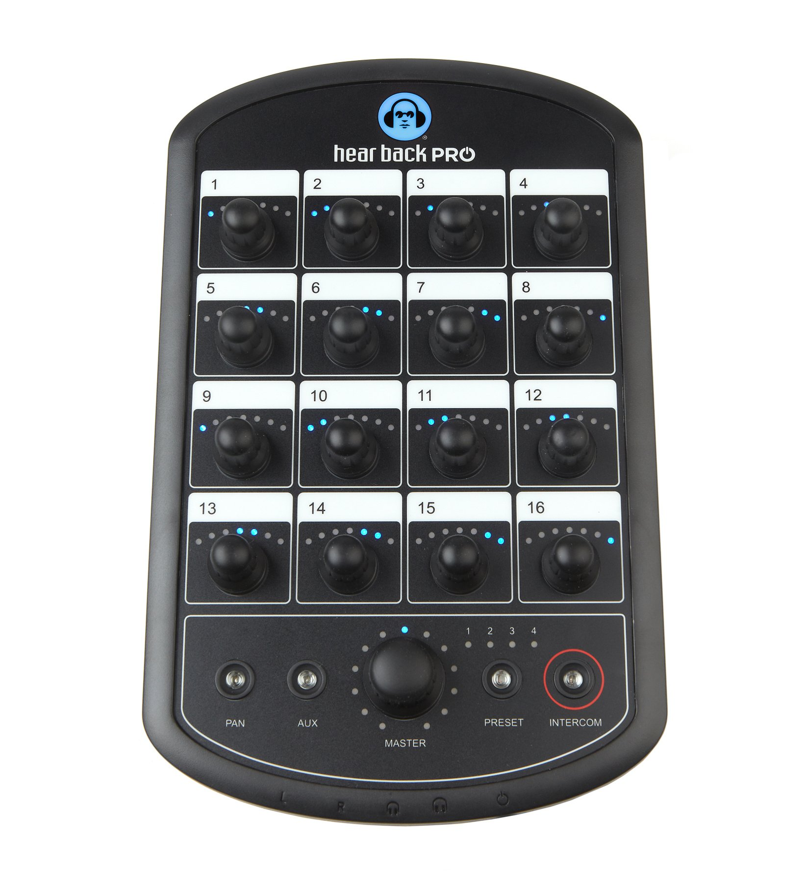 Network-Based 16-Channel Personal Monitor Mixer System Package