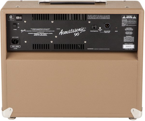"90W 2-Channel 8"" Acoustic Guitar Combo Amplifier"