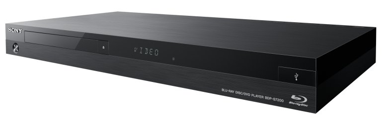 Sony BDP-S7200 [RESTOCK ITEM] Wi-Fi Streaming Blu-ray Disc Player with 4K Upscaling BDPS7200-RST-01