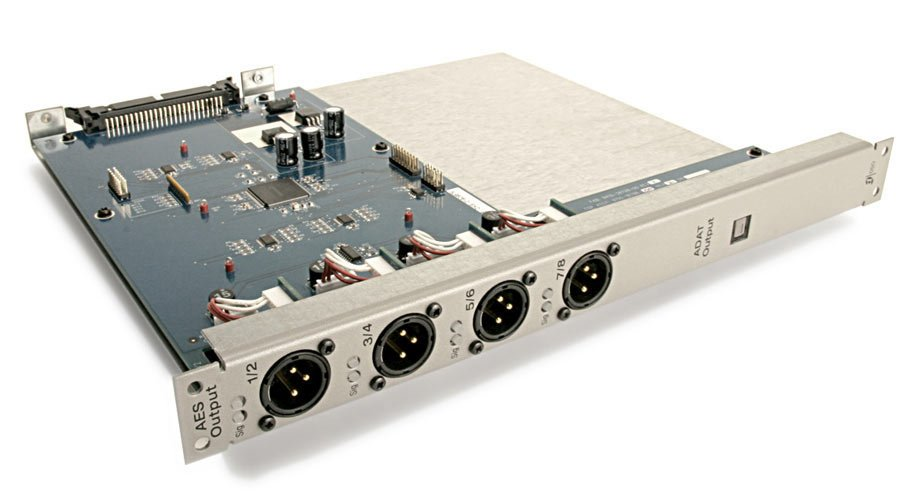 Digital Output Card for VENUE Stage Rack with 4x 2-Channel Digital AES XLRs