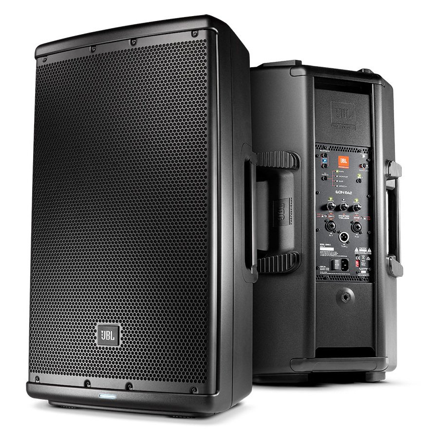 "12"", 2-Way 1000-Watt Active Loudspeaker w/ Bluetooth"