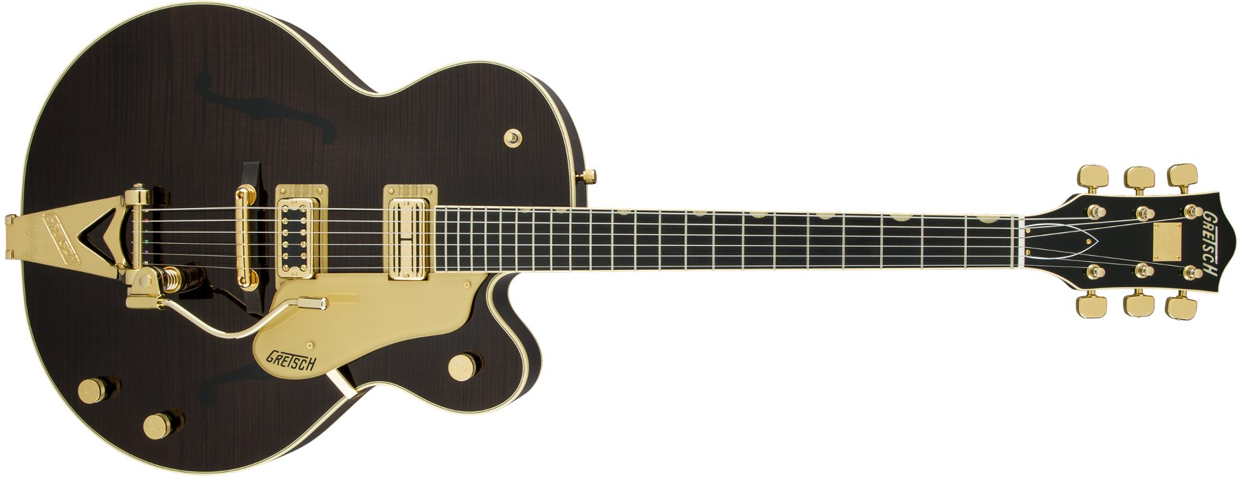 Gretsch Guitars G6122T-59 [DISPLAY MODEL] Vintage Select '59 Chet Atkins Country Gentleman Hollow Body with Bigsby, Tiger Flame Maple G6122T-59GE-DIS