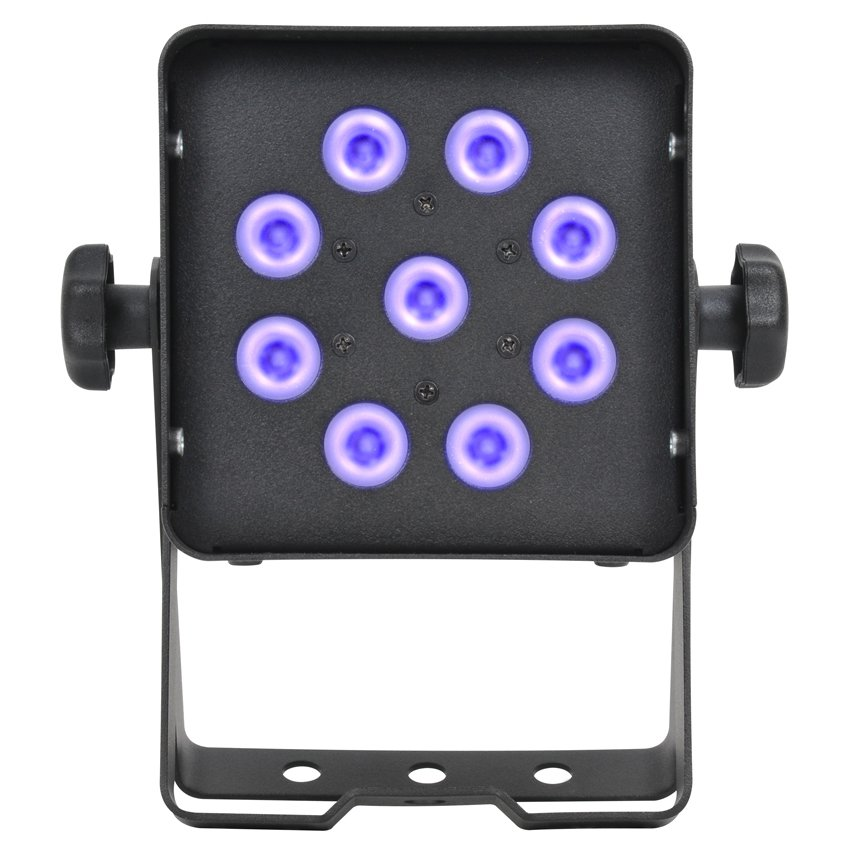 9 x 3W 365nm Compact UV LED Spot