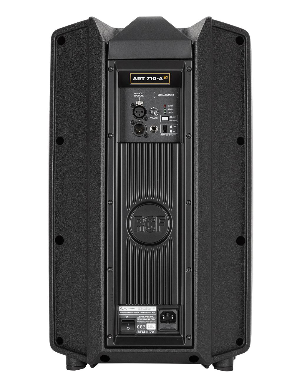 "Active 2-Way Loudspeaker with 10"" Woofer, 1400 W"