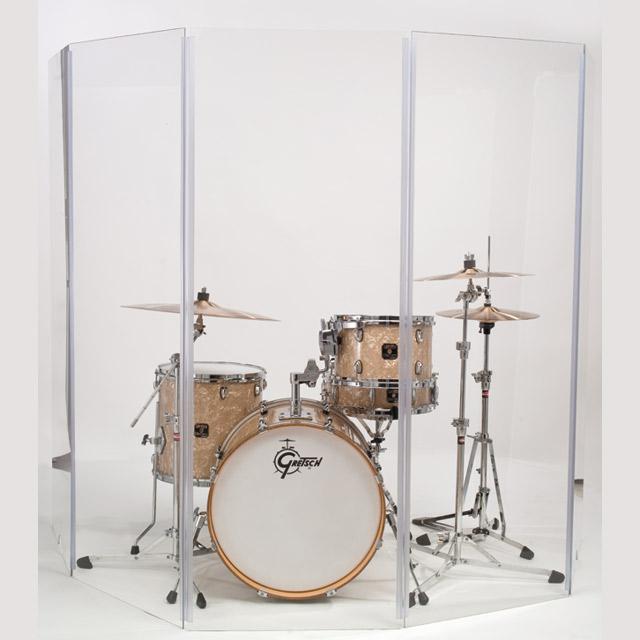 Drum Shield 5.5x10 T Panel