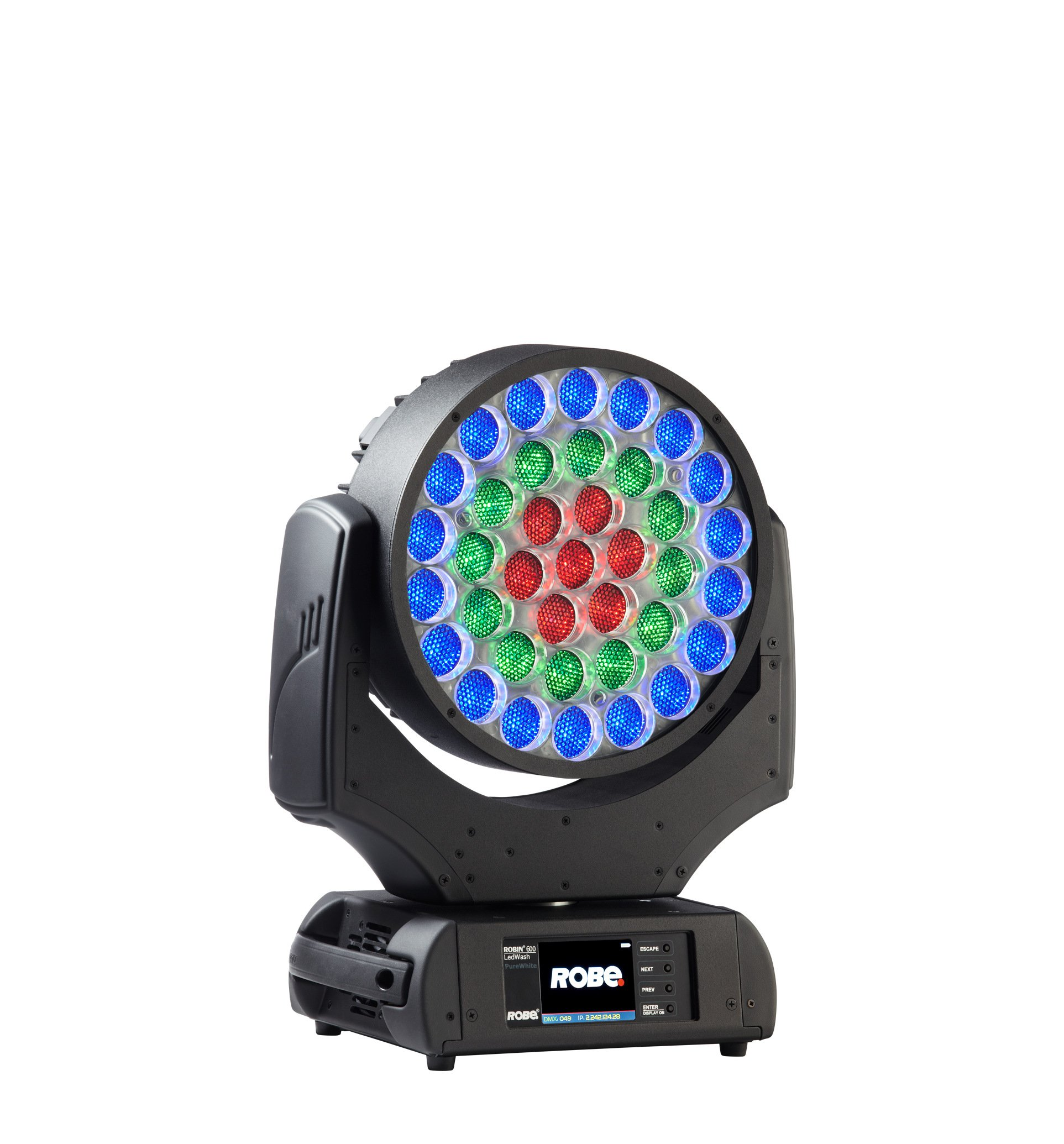 LED Moving Head Wash with 8°-63° Zoom