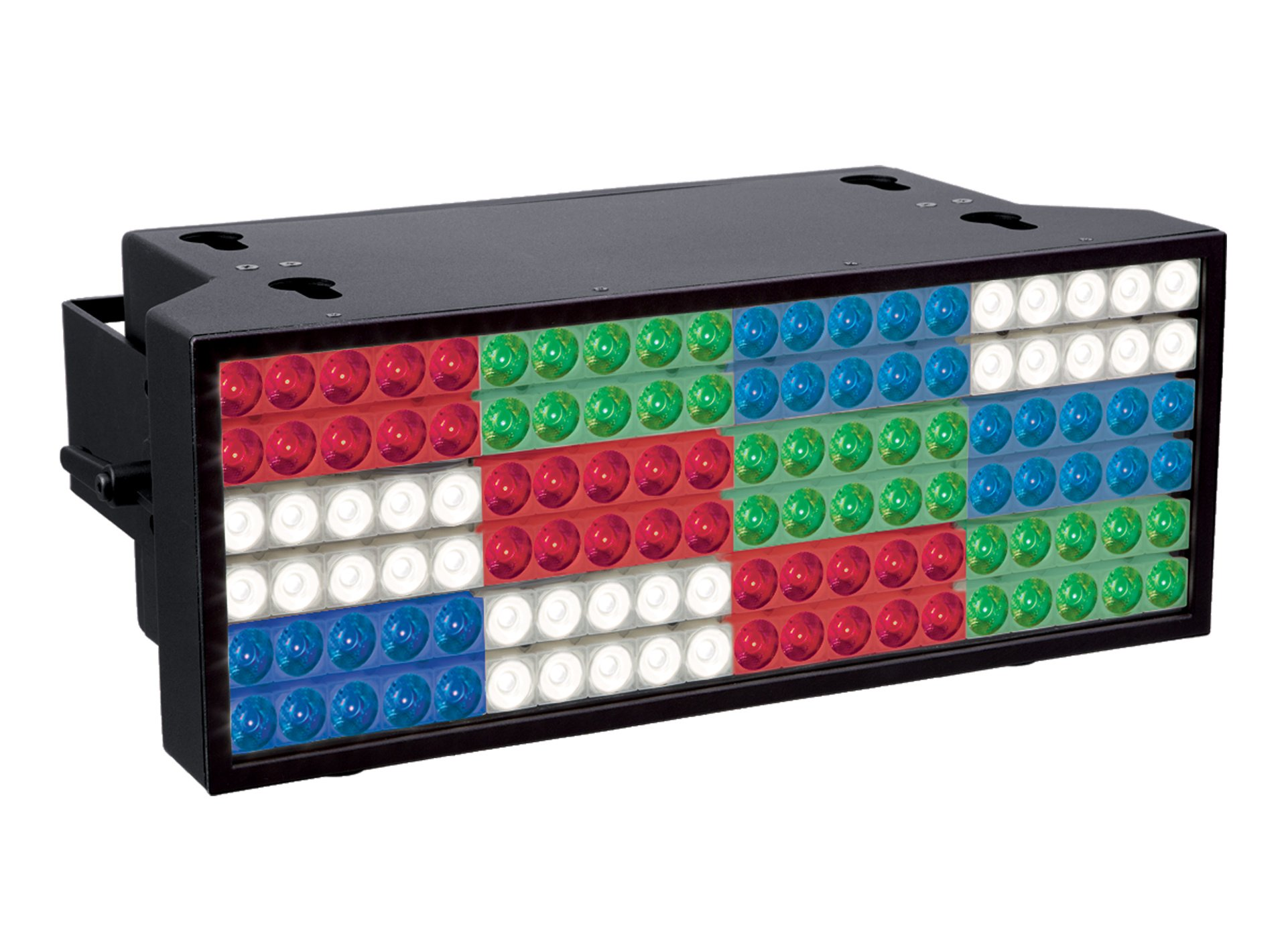 120x RGBW LED Strobe, with 35°-63° Zoom