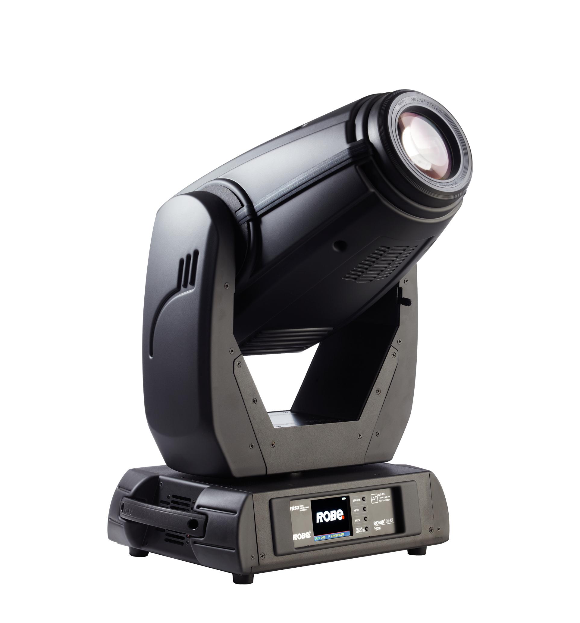 Robe Lighting, Inc ROBIN-DL4X-SPOT 480 Watt LED Moving Head Spot Fixture ROBIN-DL4X-SPOT