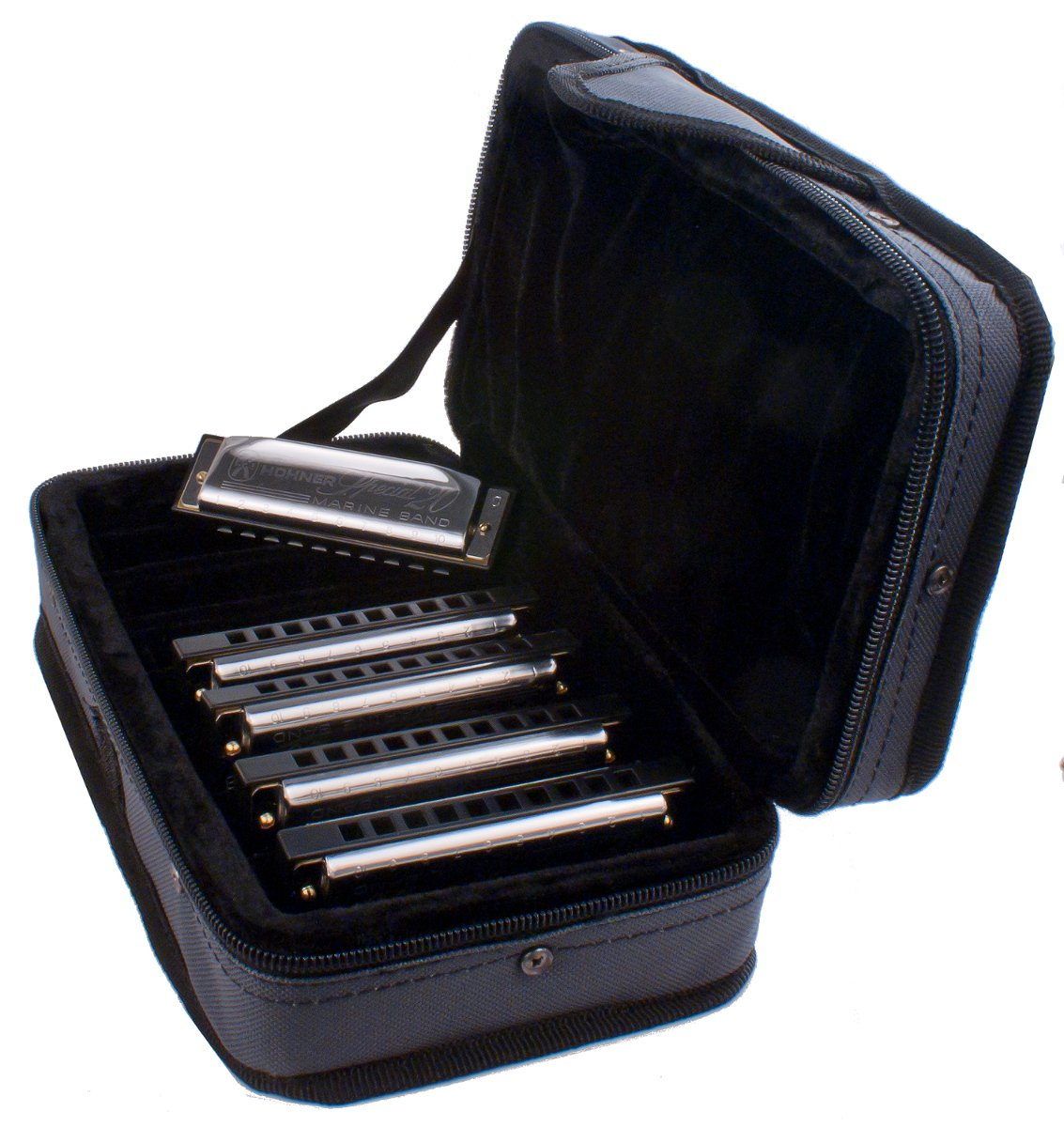 Special 20 Harmonica 5-pack with C-7 Case