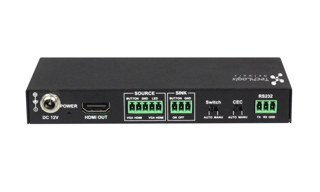 2x1 HDMI & VGA Switcher with Control