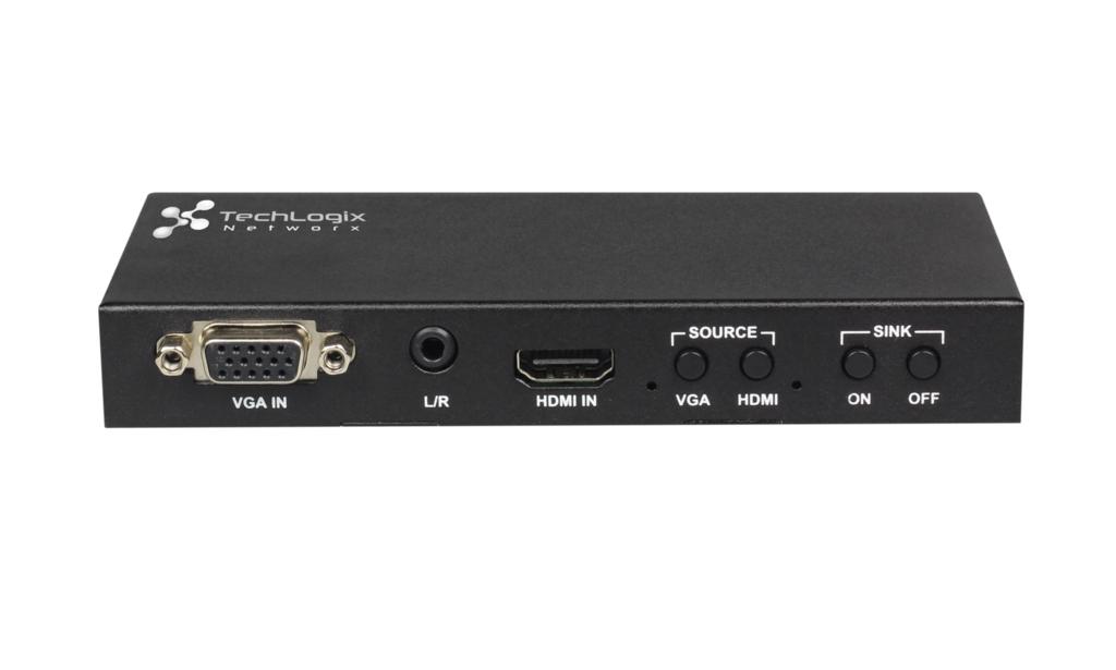 2x1 HDMI & VGA Switcher