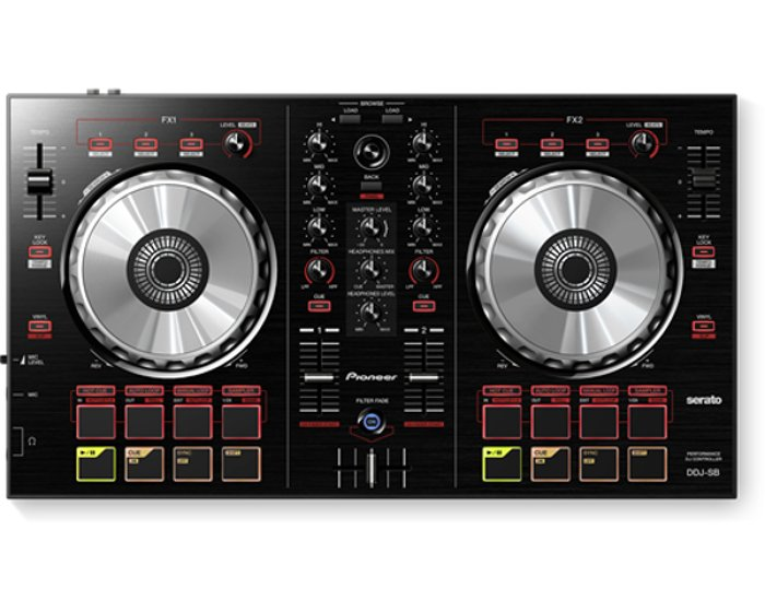 Controller, Portable 2-channel For Serato DJ