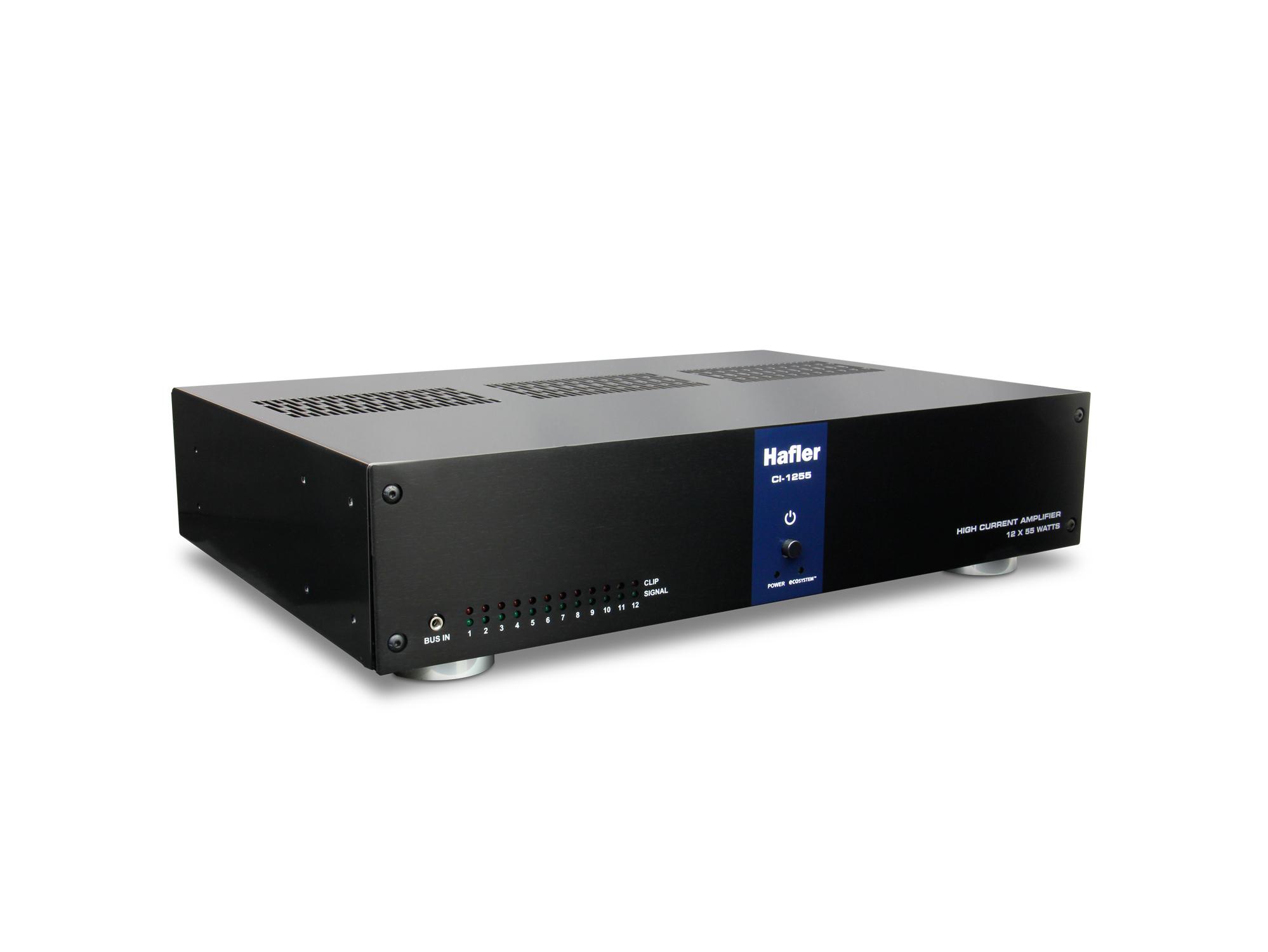 55W, 12-Channel Multi-Zone Power Amplifier