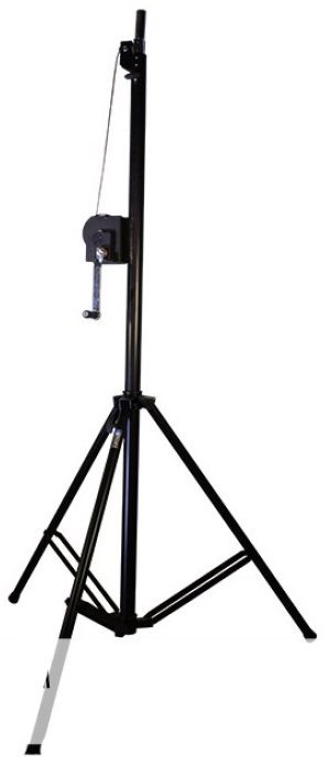 """73"""" to 138"""" Telescoping Lighting Stand with 220.5 lbs Weight Capacity"""