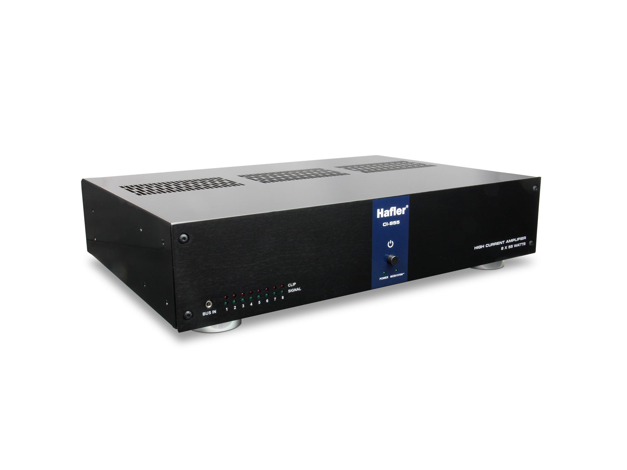 55W, 8-Channel Multi-Zone Power Amplifier