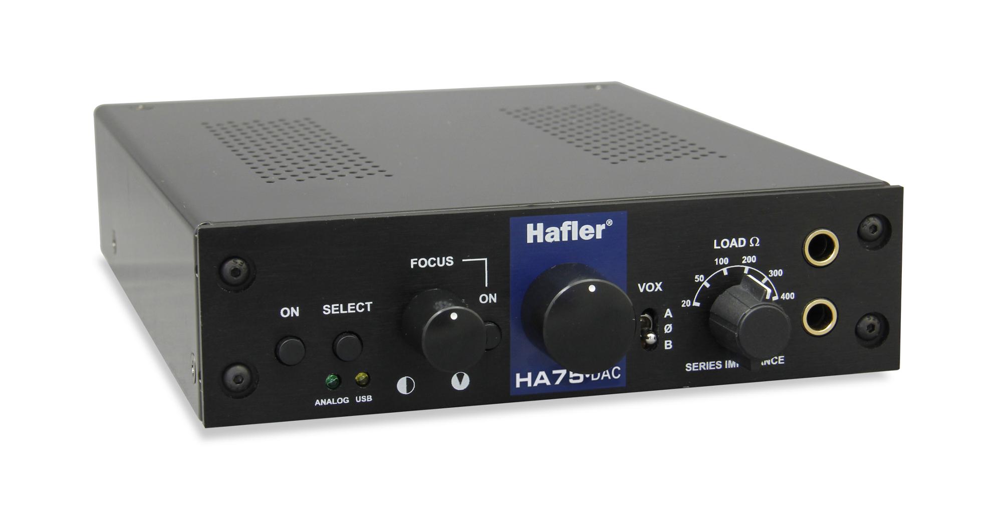 Combo Usb Dac And Tube Head Headphone Amp By Hafler Ha75 Full Audio Enhancement For Analog Amplifier