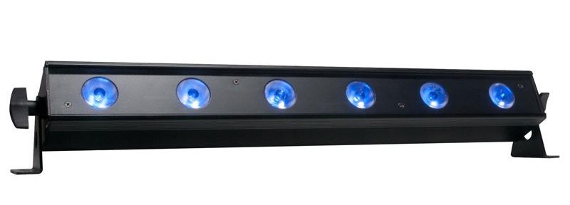 "22.5"" 6x10W RGBAW+UV LED Linear Fixture"