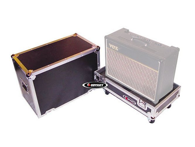 "1 x 12"" Guitar Combo Amplifier Case with Wheels"