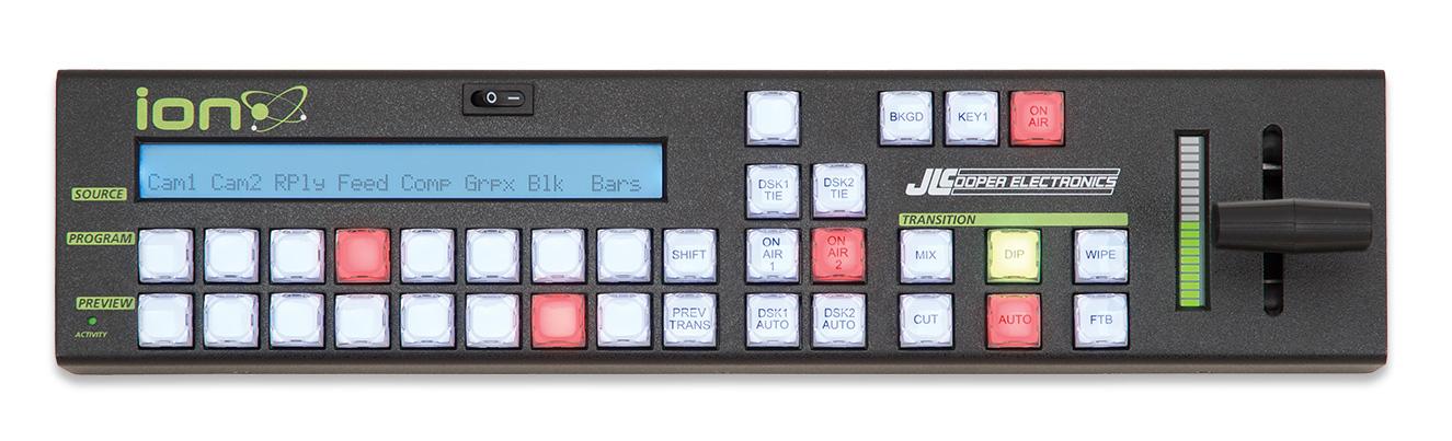 JLCooper ION-ETHERNET  Compact Switcher Control Surface for Black Magic Design ATEM ION-ETHERNET