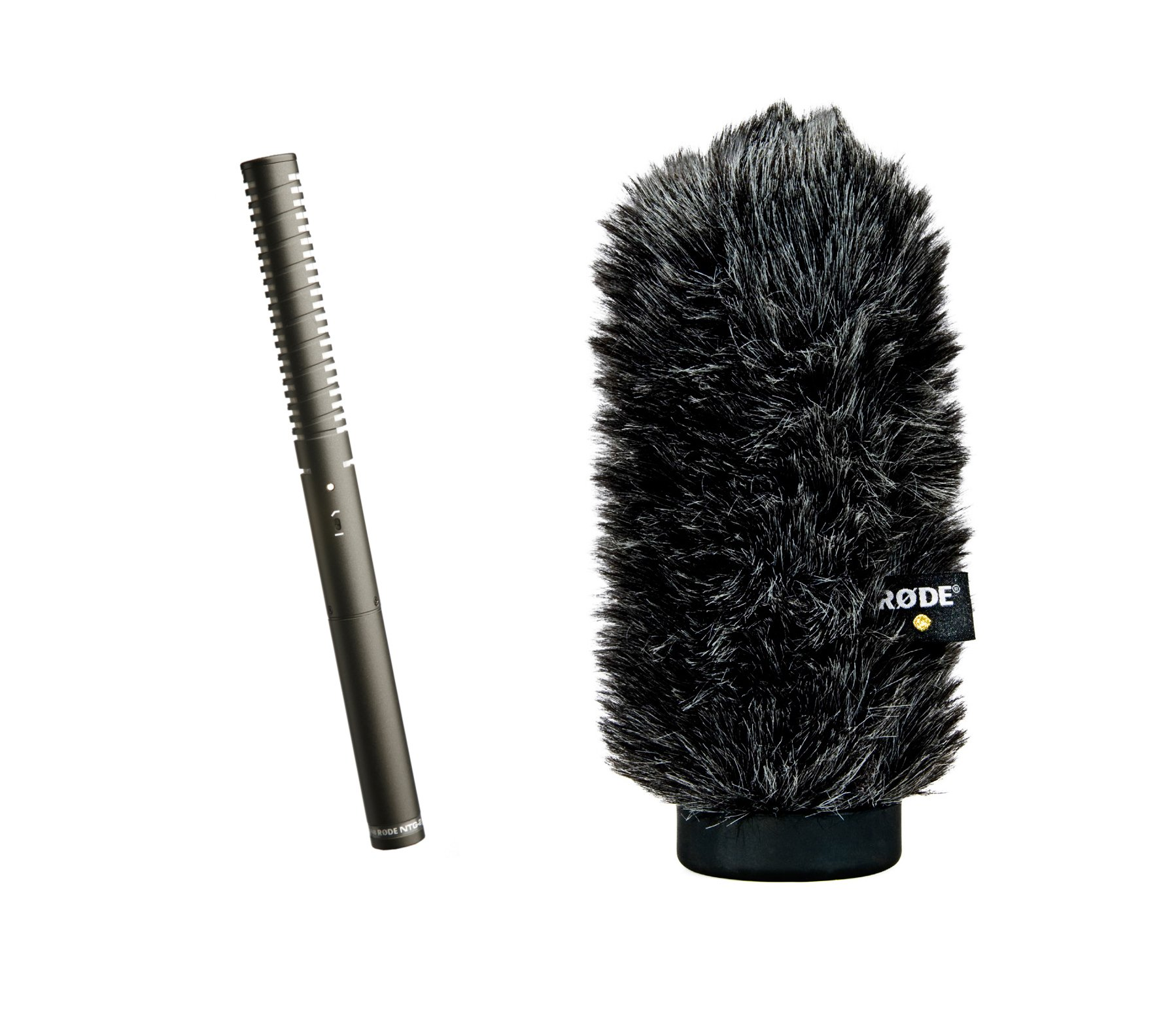 Rode NTG2/WS6 [PROMO] Condenser Shotgun Microphone with WS6 Windshield NTG2-PROMO