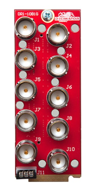 Rear Module for MC-DMON-9SRM openGear Card
