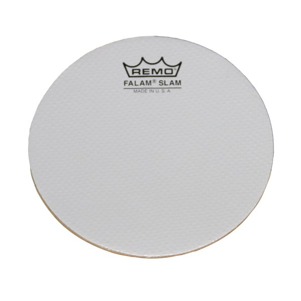 remo ks0002 ph 2 pack of 2 single kick falam slam drum head pads full compass systems. Black Bedroom Furniture Sets. Home Design Ideas