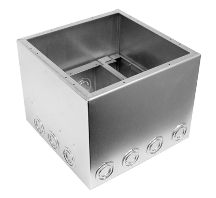 Backbox and Bracket Kit for Super Pocket Bezel & Lid