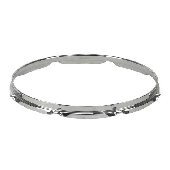 "8-Lug Regular Chrome Drum Hoop for 16"" Drums"