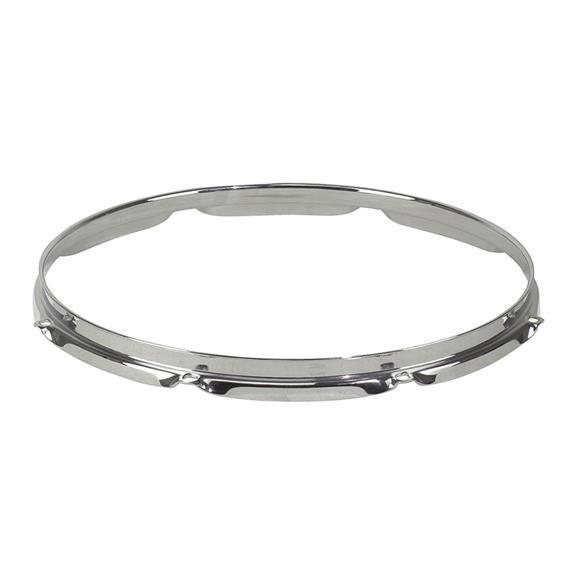 """Super Hoop II 8-Lug Chrome Drum Hoop for 16"""" Drums"""