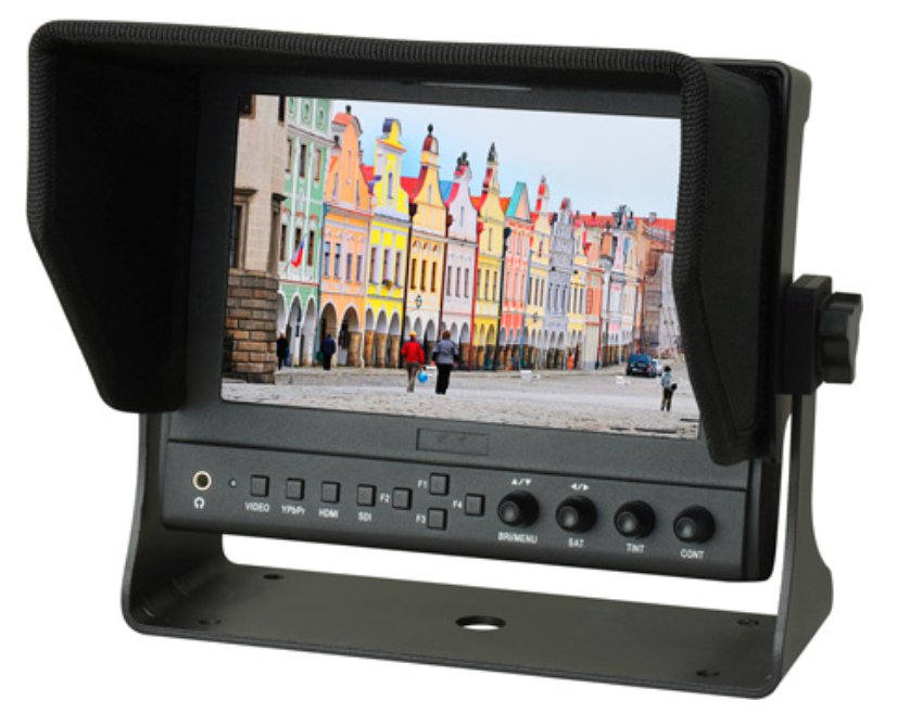 """7"""" On-Camera HDMI Monitor with Video Waveform"""