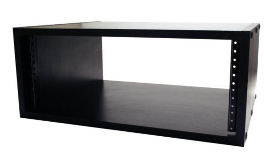 4RU Studio Rack Cabinet, Black