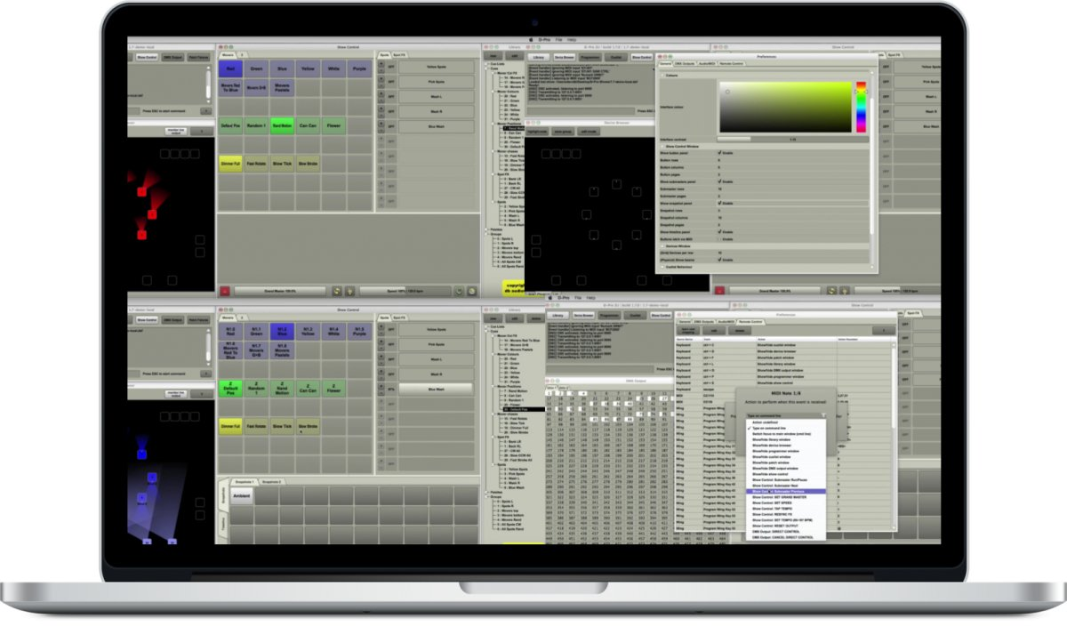 2-Universe (1024 Channels) Lighting Control Software