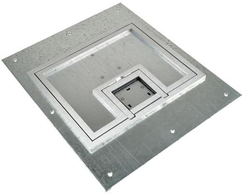 """FL-500P Full Access Lift Off Cover with 1/4"""" Square Aluminum Flange"""