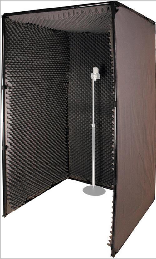 3.5 x 3.5 x 6.5 ft Portable SoundBooth