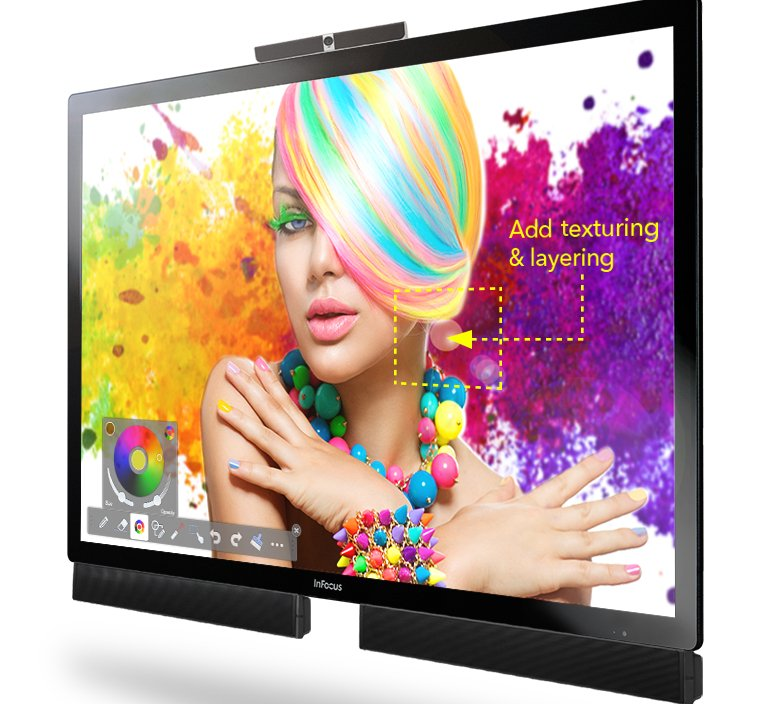 """Mondopad Ultra 70"""" Video Conferencing and Collaboration Solution with 4K"""