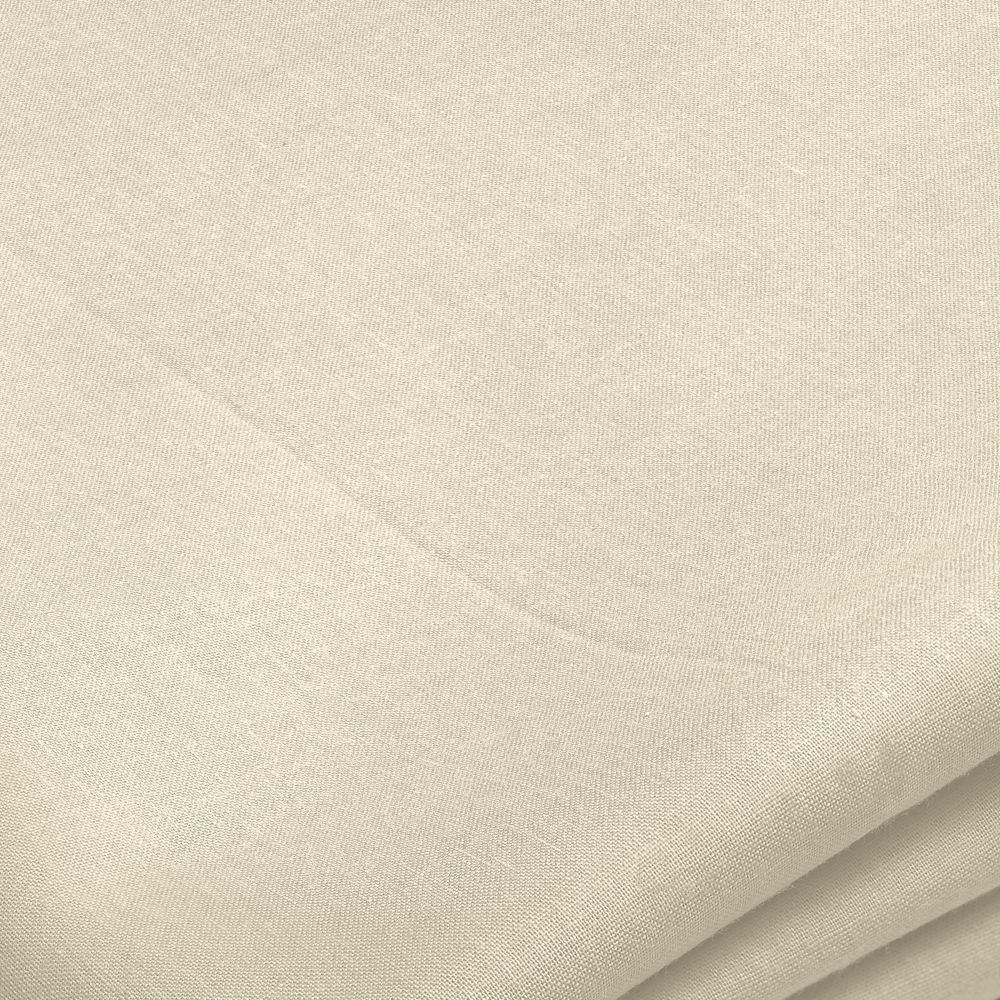 "48"" Wide Cotton Cloth in Ivory, Priced by the Yard"
