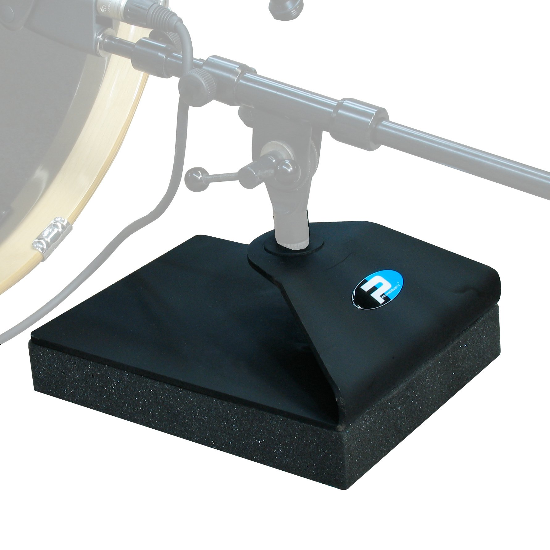Bass Drum Mic Stand Base/Vibration Isolator