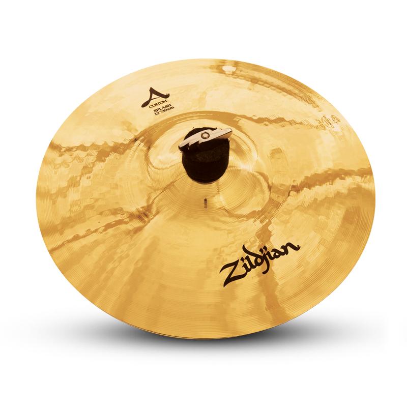"12"" A Custom Splash Cymbal with Brilliant Finish"
