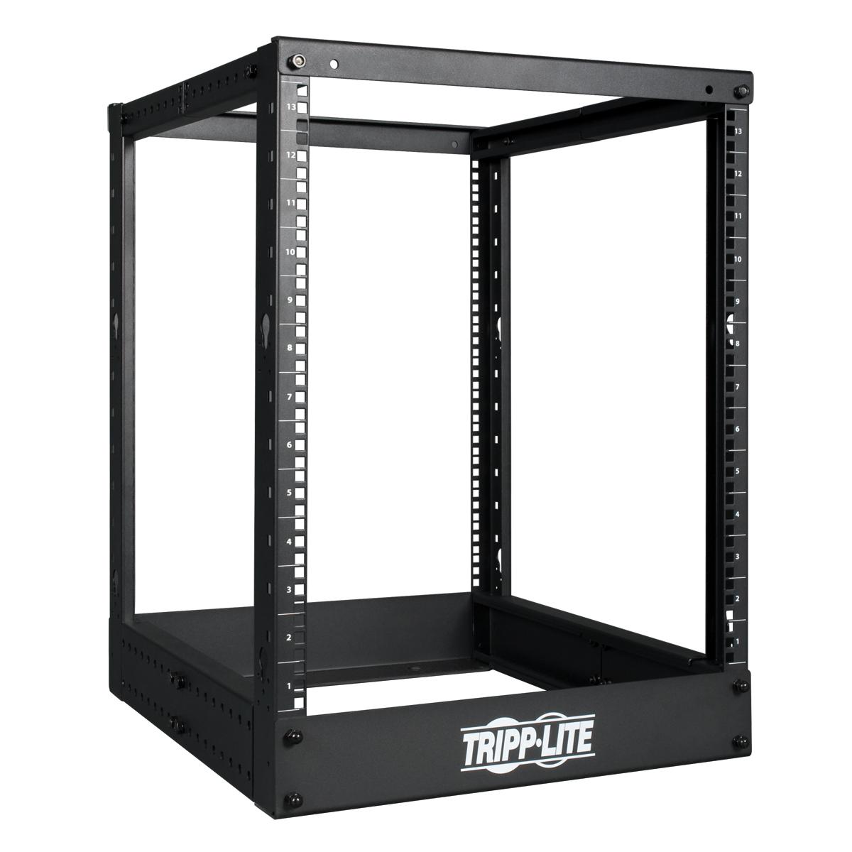 13RU SmartRack 4-Post Open Frame Rack