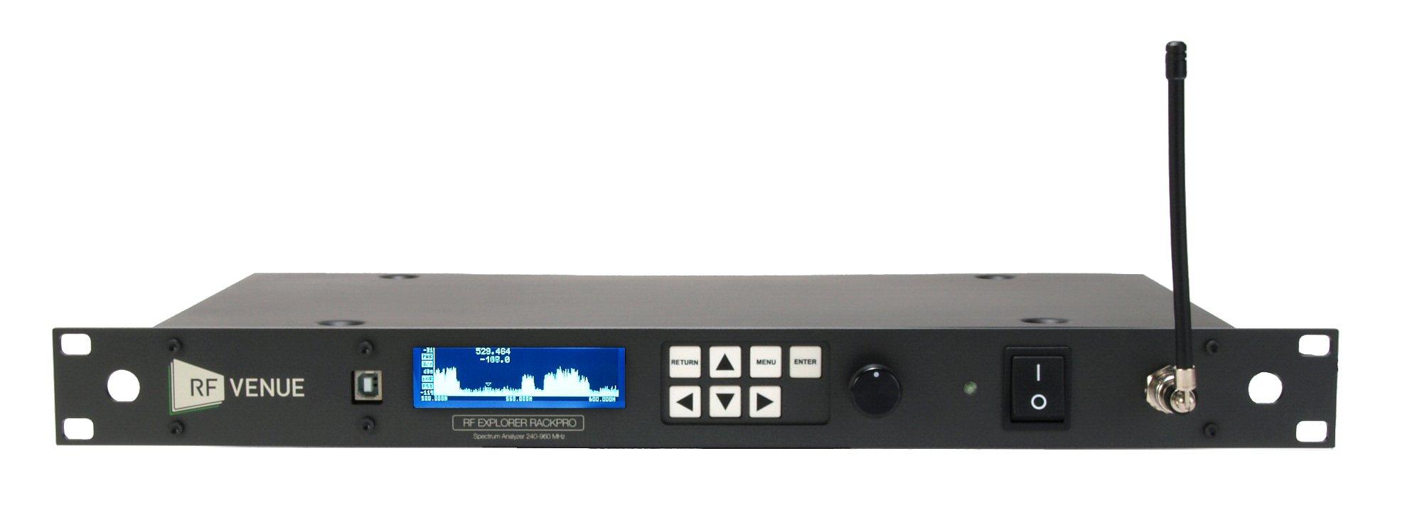 Spectrum Analyzer + RF Coordination Software