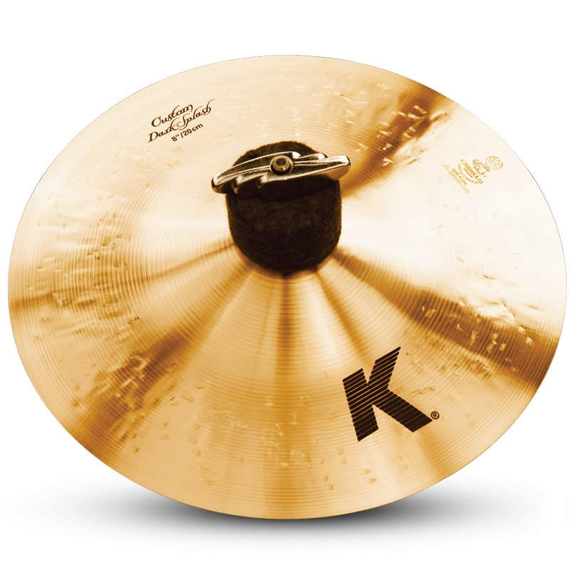 "Zildjian K0930 8"" K Custom Dark Splash K0930"