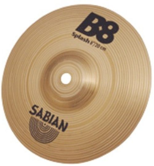 "6""  B8 Splash Cymbal"