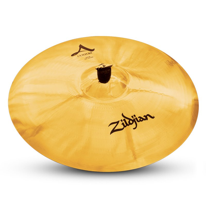 "22"" A Custom Ride Cymbal in Brilliant Finish"