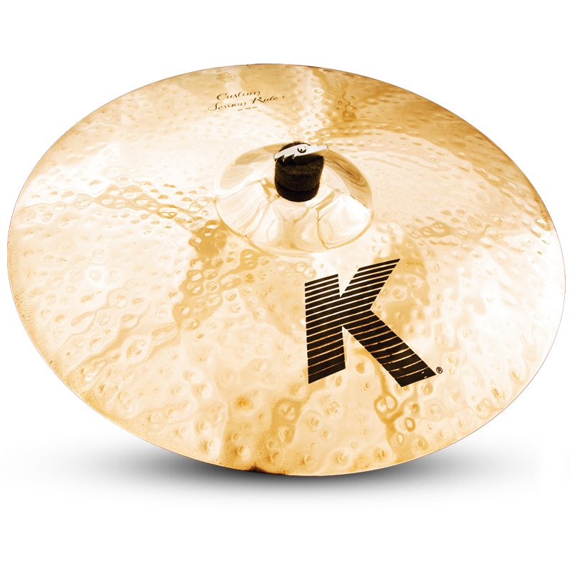 "20"" K Custom Series Session Medium Thin Ride Cymbal in Briiliant Finish"