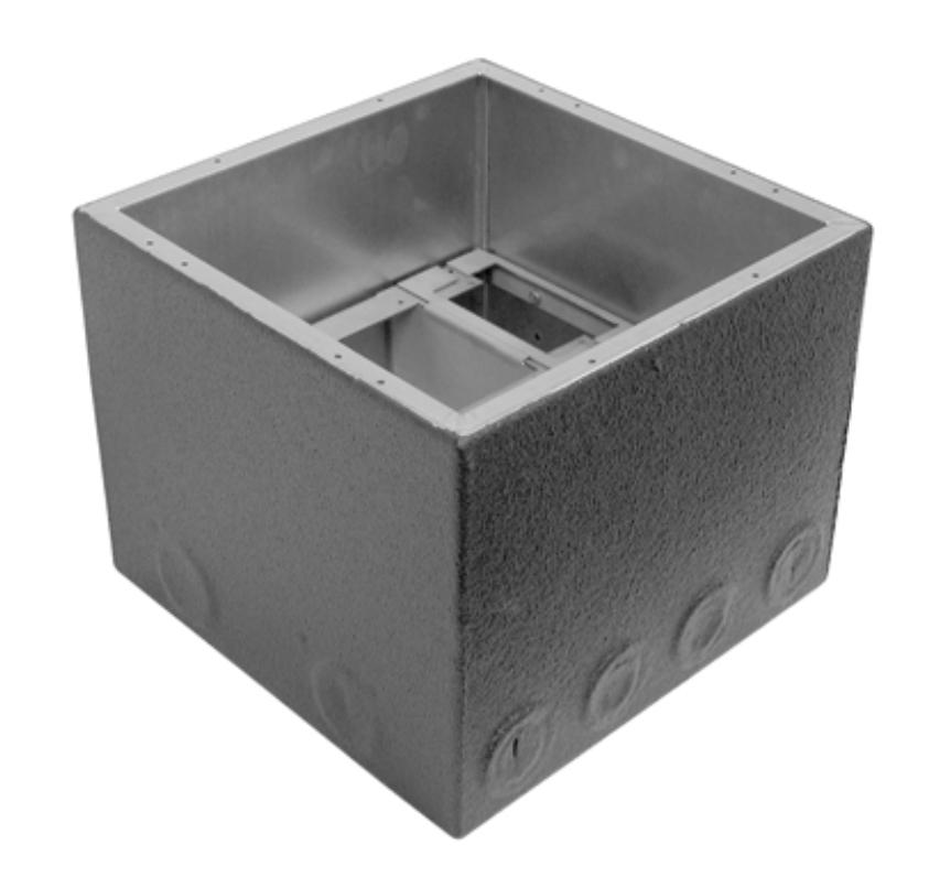 """8"""" Polyurethane Encapsulated Extra Deep Full Stage Pocket Back Box"""