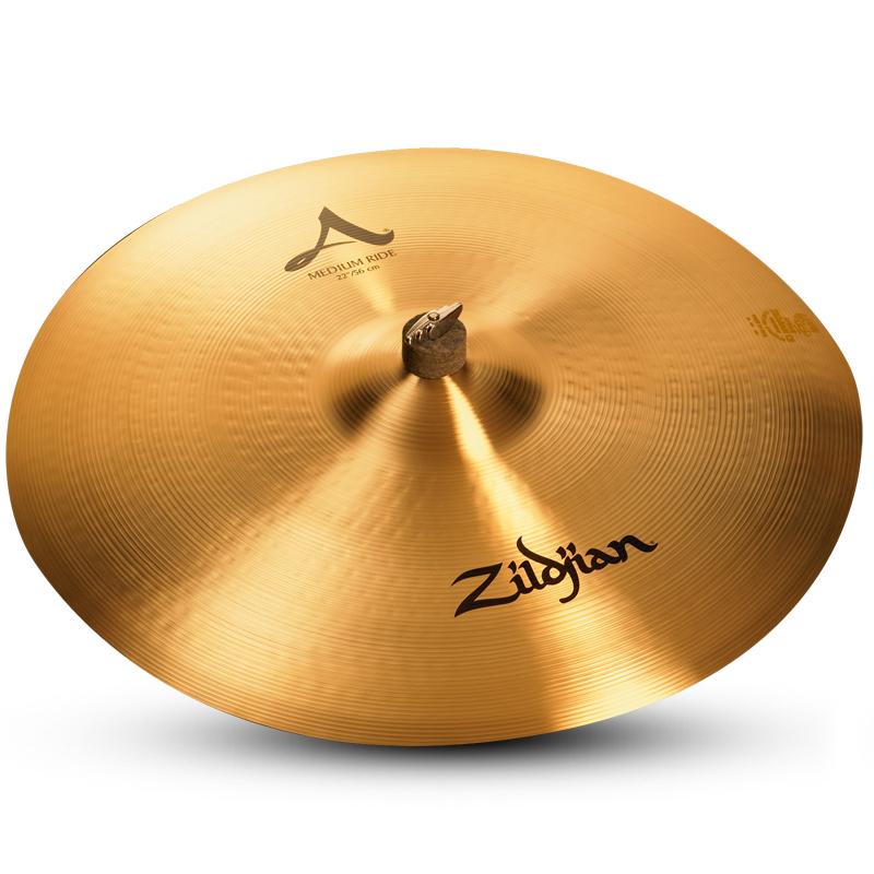 """22"""" A Zildjian Medium Ride Cymbal"""